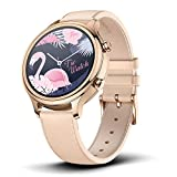 Ticwatch Smart Watch C2 for Men/Boys, Compatible with Android and iOS. (Rose Gold)