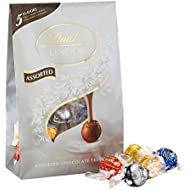 Lindt LINDOR Assorted Chocolate Truffles, Kosher, 15.2 Ounce Bag