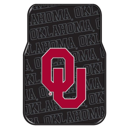 Oklahoma Sooners Auto (Officially Licensed NCAA Oklahoma Sooners Auto Front Floor Mat, 2-Pack)