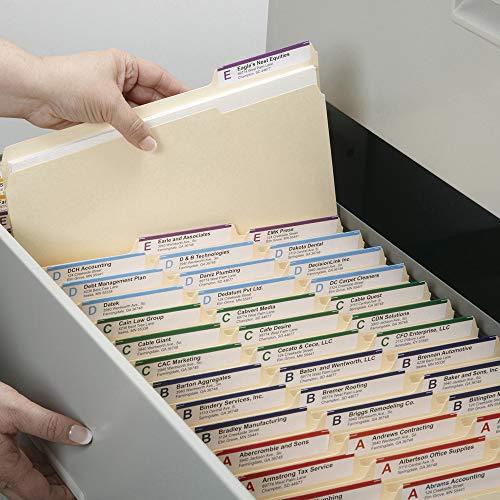 Large Product Image of Smead File Folder, 1/3-Cut Tab, Letter Size, Manila, 200 per Box (10382)