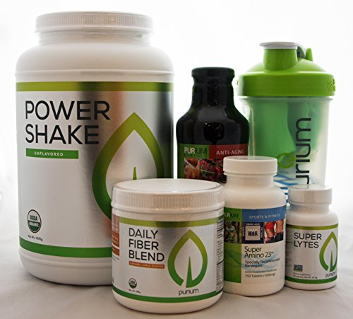 Purium 10-Day Transformation Kit - Unflavored Power Shake by Purium