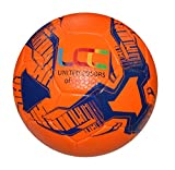 Best Soccer Balls - UCC Earth Orange/Blue Texturised Soccer Ball (Size 5) Review