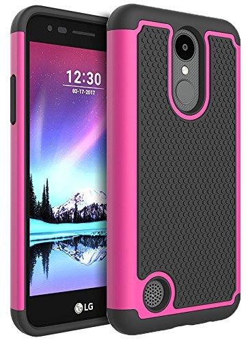 LG K8 2017 Case, LG K4 2017 Case, LG Aristo Case, LG Phoenix 3 Case, LG Fortune Case, LG Rebel 2 LTE Case, LG Risio 2 Case, GreenElec Hybrid Heavy