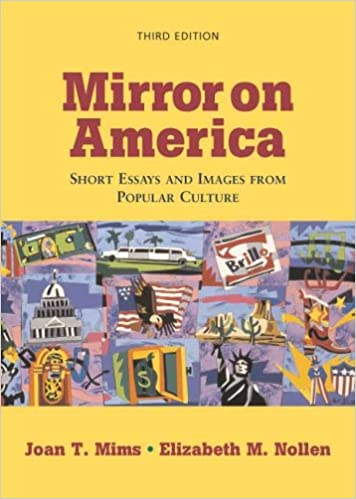 Amazoncom Mirror On America Short Essays And Images From Popular  Mirror On America Short Essays And Images From Popular Culture Third  Edition Edition Essay Samples For High School Students also Ap English Essays  1 Page Papers For Sale
