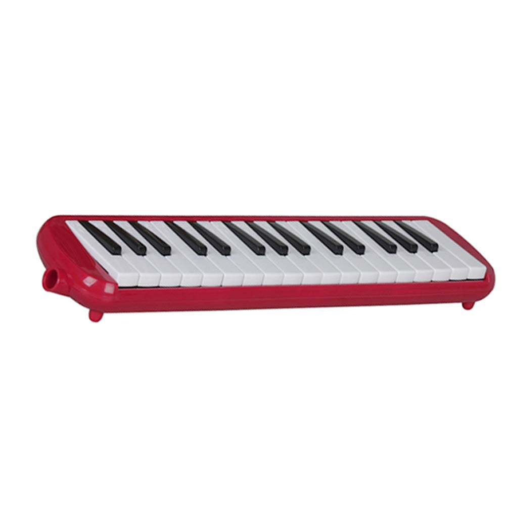 Gaweb Portable 32 Keys Melodica Musical Piano Style Education Instrument Red