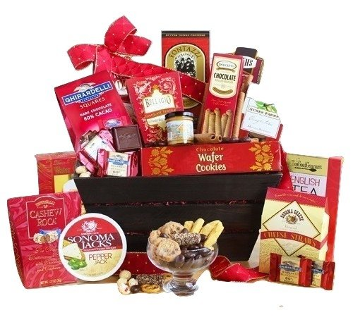 Deluxe Large Gourmet Food and Snacks Gift Basket - For the Whole Crowd! | Great Gourmet Gift Basket for Any Occasion