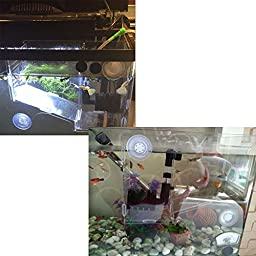 Happy Pet Fish Breeding Incubator, Transparent Isolated Box for Guppy and Bettas, Acrylic Incubation Boxes