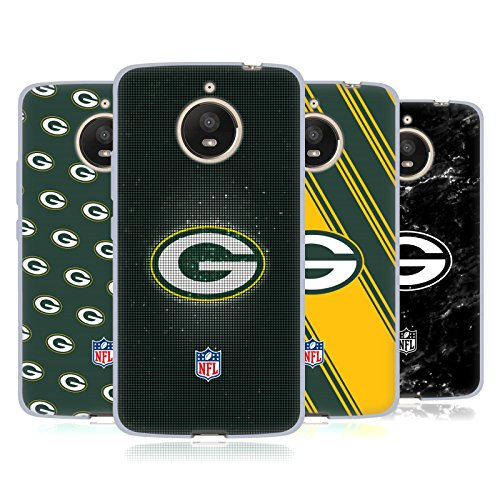Official NFL 2017/18 Green Bay Packers Soft Gel Case for Motorola Moto E4 Plus