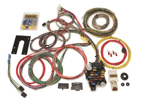 Painless 10201 Classic-Plus Customizable Chassis Harness (GM Keyed Column-28 Circuits)