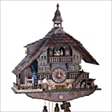 Cuckoo Clock Black Forest house with tower