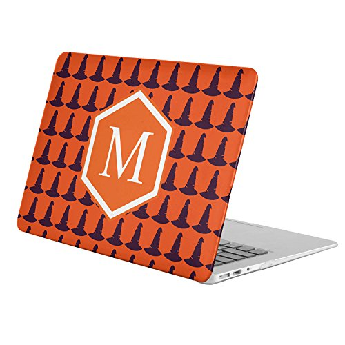 [ M - INITIAL ] [ Name Monogram Full Body Hard Case ][ MacBook Pro 13-Inch with Retina Display (Model A1425 / A1502) ] - [ Halloween Witch Hat (Witch Names For Halloween)