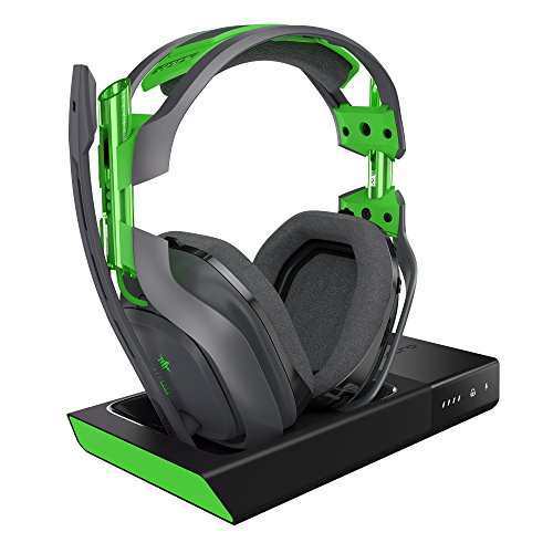 ASTRO Gaming A50 Wireless Dolby Gaming Headset - Black/Green - Xbox One + PC by ASTRO Gaming