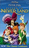 peter pan disney vhs - Peter Pan in Return to Never Land (Walt Disney Pictures Presents) [VHS]
