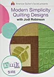 img - for Modern Simplicity Quilting Designs: Complete Iquilt Class book / textbook / text book