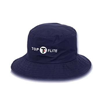 Top-Flite Waterproof Bucket Hat Navy Small Medium  Amazon.co.uk ... 6a89348ad33