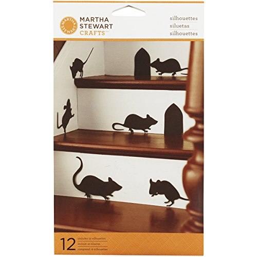 Martha Stewart Crafts Mice Silhouette Clings, 44-10209