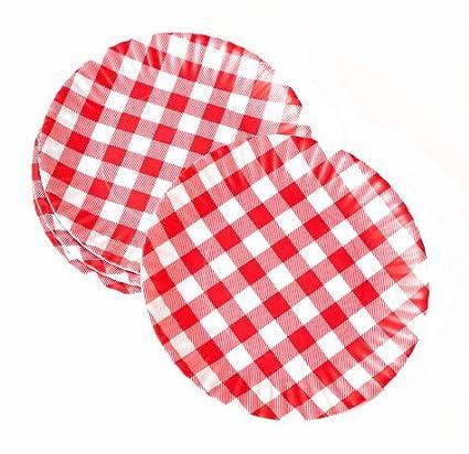 u0026quot;What Is It?u0026quot; Reusable Red u0026 White Gingham Checkered Picnic /  sc 1 st  Amazon.com & Amazon.com |