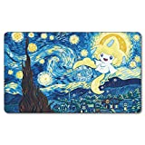 Birds of Paradise Board Cards Games Play Mat Table pad Size 60x35 cm Mousepad playmats with Waterproof Storage Bag for MTG ygo CCG TCG yugioh Pokemon Magic The Gathering Cards Games
