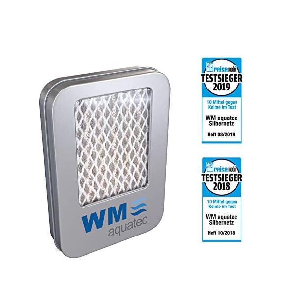 5118QVn87AL WM aquatec Silbernetz zur autom. Wasserkonservierung für Frischwassertanks bis 50 Liter & Caramba 619902 Silikon Spray…