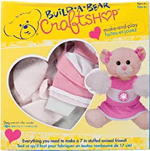 Colorbok Build A Bear Kit Pink Cuddles Cheerleader