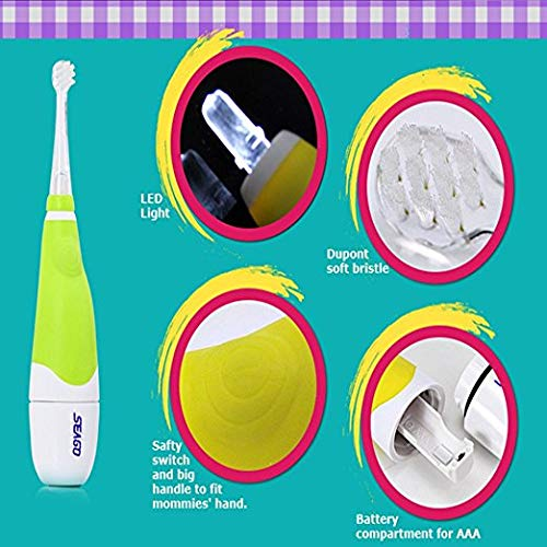 SEAGO Electrical Toothbrush for Baby Children, Old