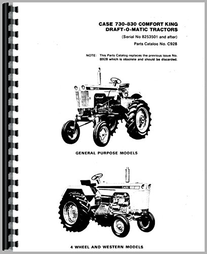 Download Case 734 Tractor Parts Manual PDF