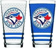 MLB Toronto Blue Jays Mixing Glass, 2-Pack