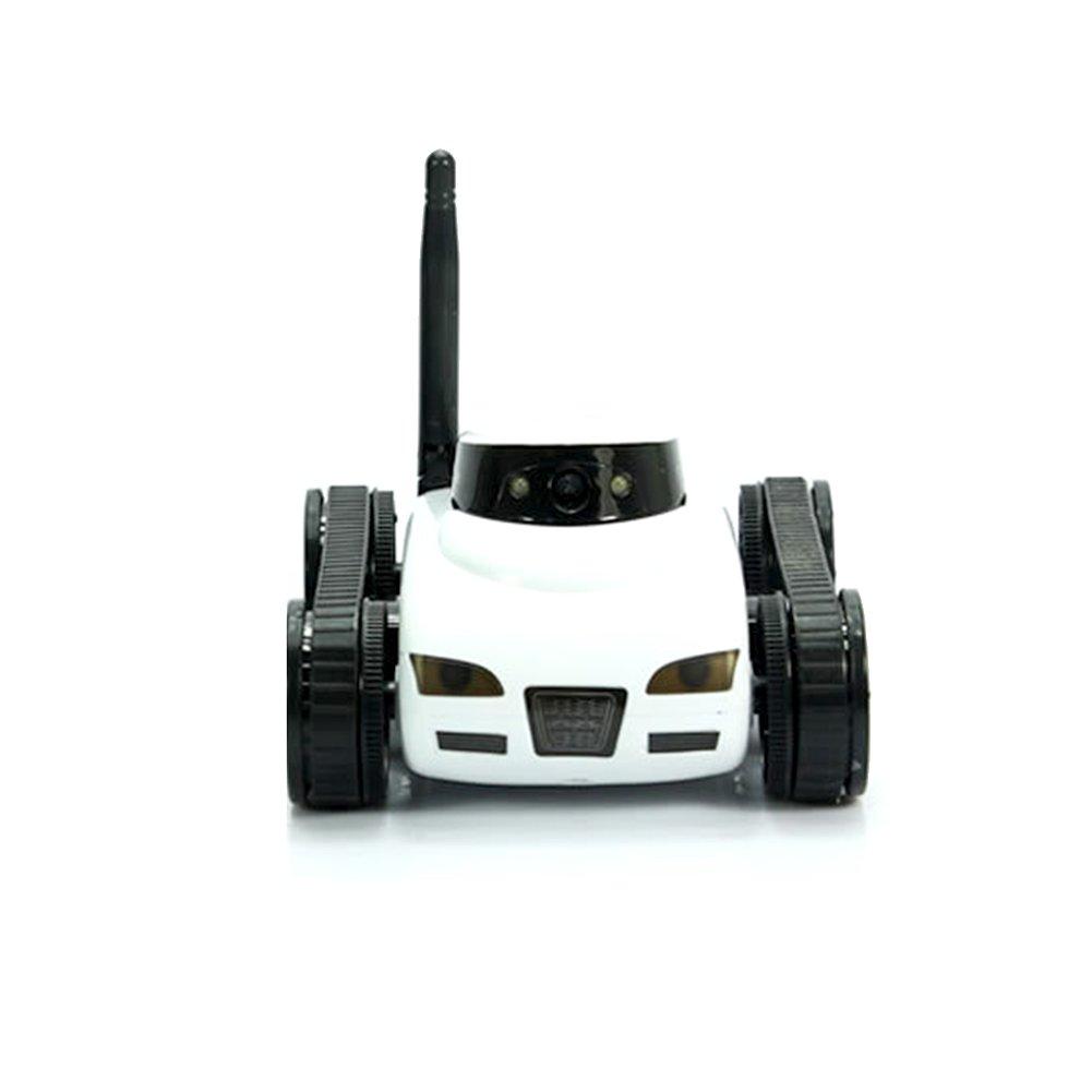 JAMOR Home Patrol Robot Mobile Remote Control Video Car Smart Security Mobile Robot Panorama Camera