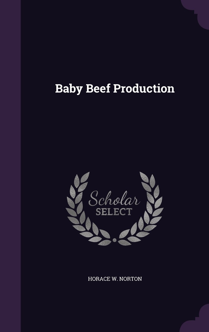 Baby Beef Production pdf