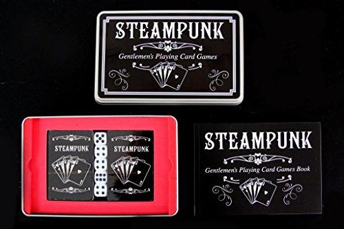 Steampunk Gentlemans Playing Card Games Set 4