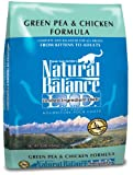 10 Pounds Dog Food - Natural Balance L.I.D. Limited Ingredient Diets Green Pea & Chicken Formula Dry Cat Food, 10-Pound