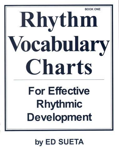 M401   Rhythm Vocabulary Charts For Effective Rythmic Development   Book 1