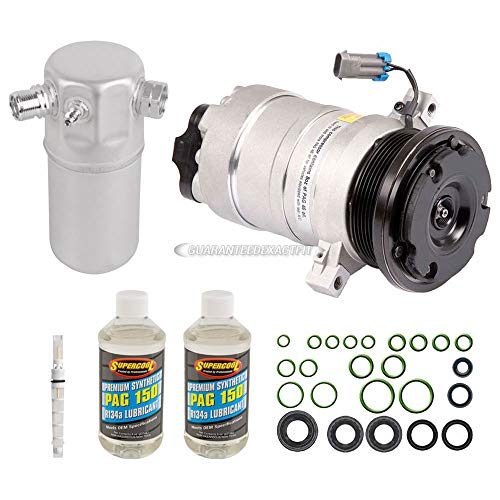 (AC Compressor w/A/C Repair Kit For Chevrolet Astro & GMC Safari - BuyAutoParts 60-81898RK New)