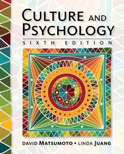 1305648951 - Culture and Psychology