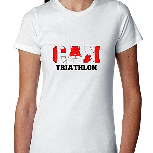 Canada Triathlon - Olympic Games - Rio - Flag Women's Cotton - Apparel Triathlon Canada