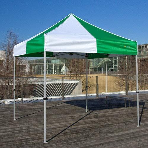 集会用 イベントテント KA/3W(2.4m×2.4m) かんたんてんと B00AQ8BTS8 黄+白 黄+白