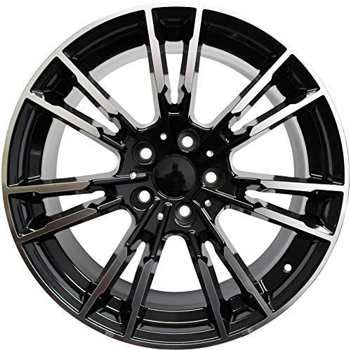 20 Inch Rims Fits 4 Series Rims 5 Series 6 Series 528 535 545 550 645 640 650 M5 Style BMW Wheels (Bmw 645 Rims)