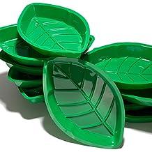 Palm Leaf Serving Trays (A dozen per package)