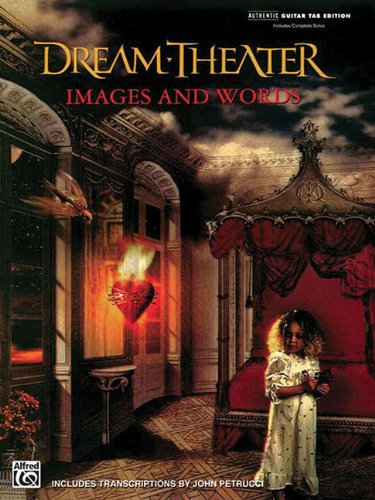 Dream Theatre: Images And Words-Includes Complete Solosauthentic Guitar Tab Edition