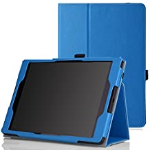 Google Nexus 9 Case - MoKo Slim Folding Cover Case for Google Nexus 9 8.9 inch Volantis Flounder Android 5.0 Lollipop tablet by HTC, BLUE(With Smart Cover Auto Wake / Sleep Feature)