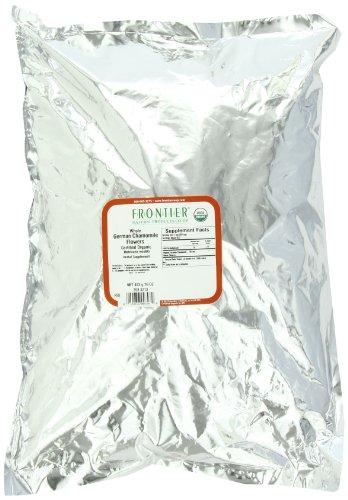 Frontier fleurs de camomille, Whole allemand certifié biologique, 16 onces sac