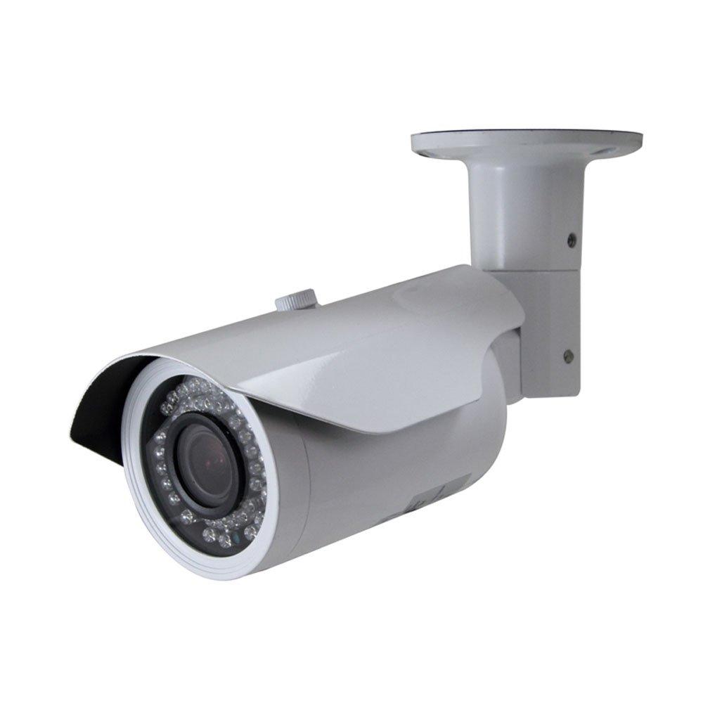 SPT 11-MCBW12 720P HD-CVI IR Bullet Camera w/ 2.8mm~12mm Lens, 42IR & DC12V (White)