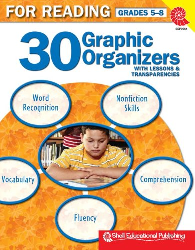 Download 30 Graphic Organizers for Reading w/Lessons & Transparencies Gr. 5-8 pdf epub