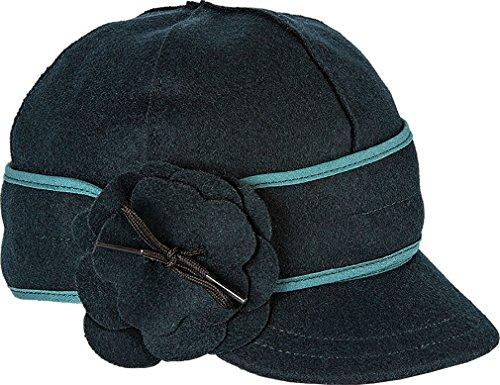 Stormy Kromer Women's Petal Pusher Cap,Blue,7.5