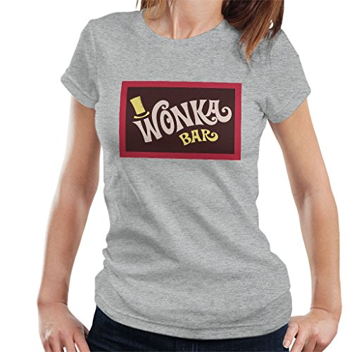 Wonka Bar Wrapper Charlie and The Chocolate Factory Women's T-Shirt (Charlie And The Chocolate Factory Inventing Room)