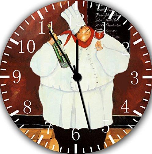 New Chef Wall Clock 10