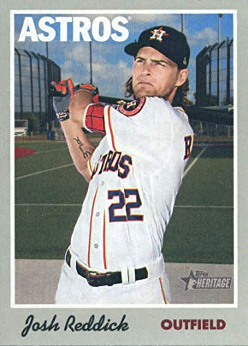 2019 Topps Heritage #60 Josh Reddick Houston Astros Baseball Card