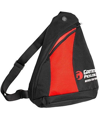 Gamma Pickleball Sling Bag Black/Red