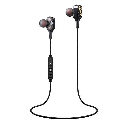 b520dd1bb3f Axiba Wireless Headphones Anker Soundcore Spirit Pro, Dual EQ, 10 Hour  Playtime, IP68, SweatGuard Technology, Hi-Fi Sound, Built-in Mic, ...