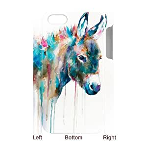 Customized Durable Case for Iphone 4,4S 3D, The Donkey Phone Case - HL-R685423 wangjiang maoyi